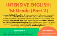Intensive English: 1st Grade II