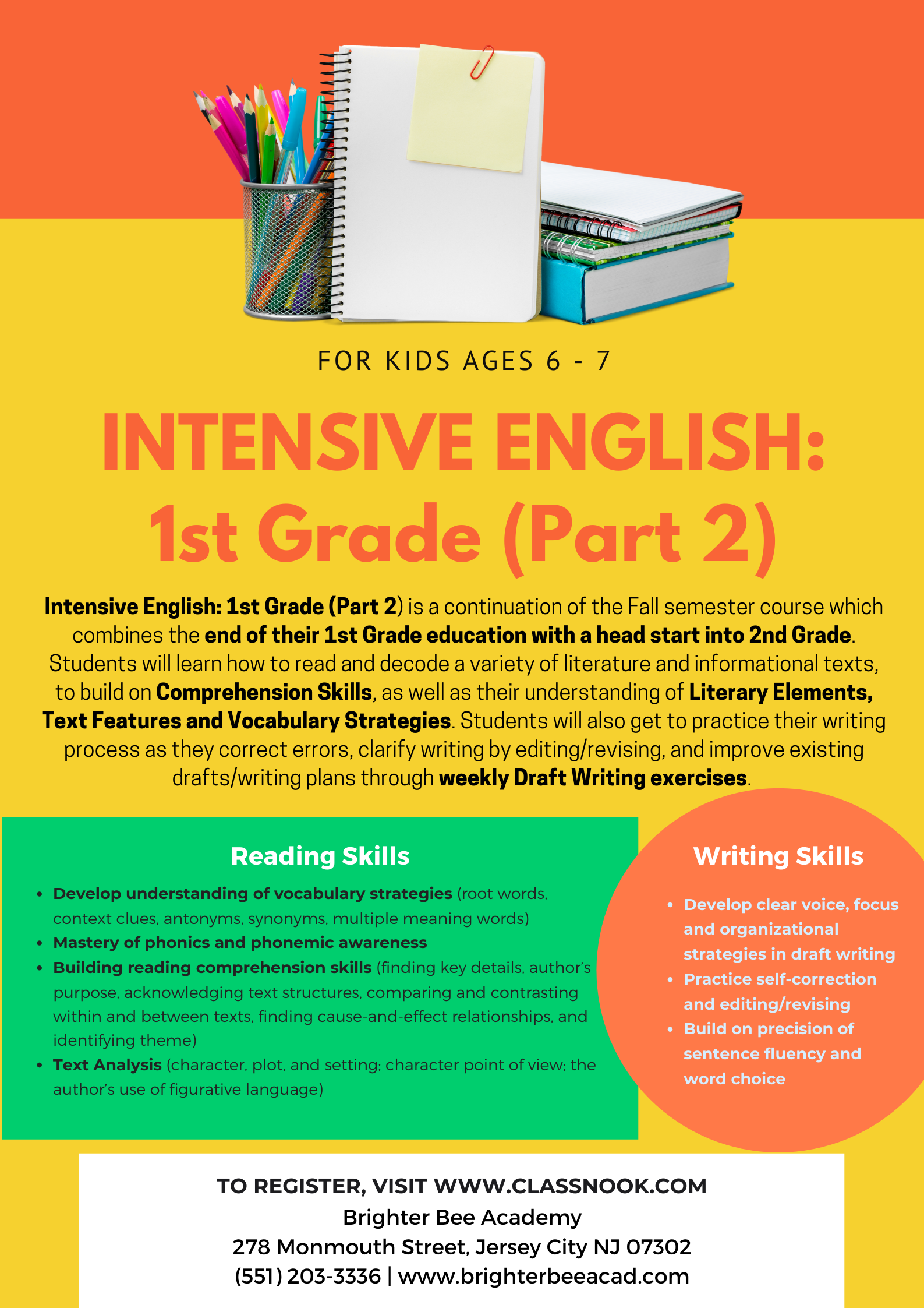 1st Grade2_Course Poster