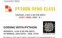 Coding with Python Demo Class