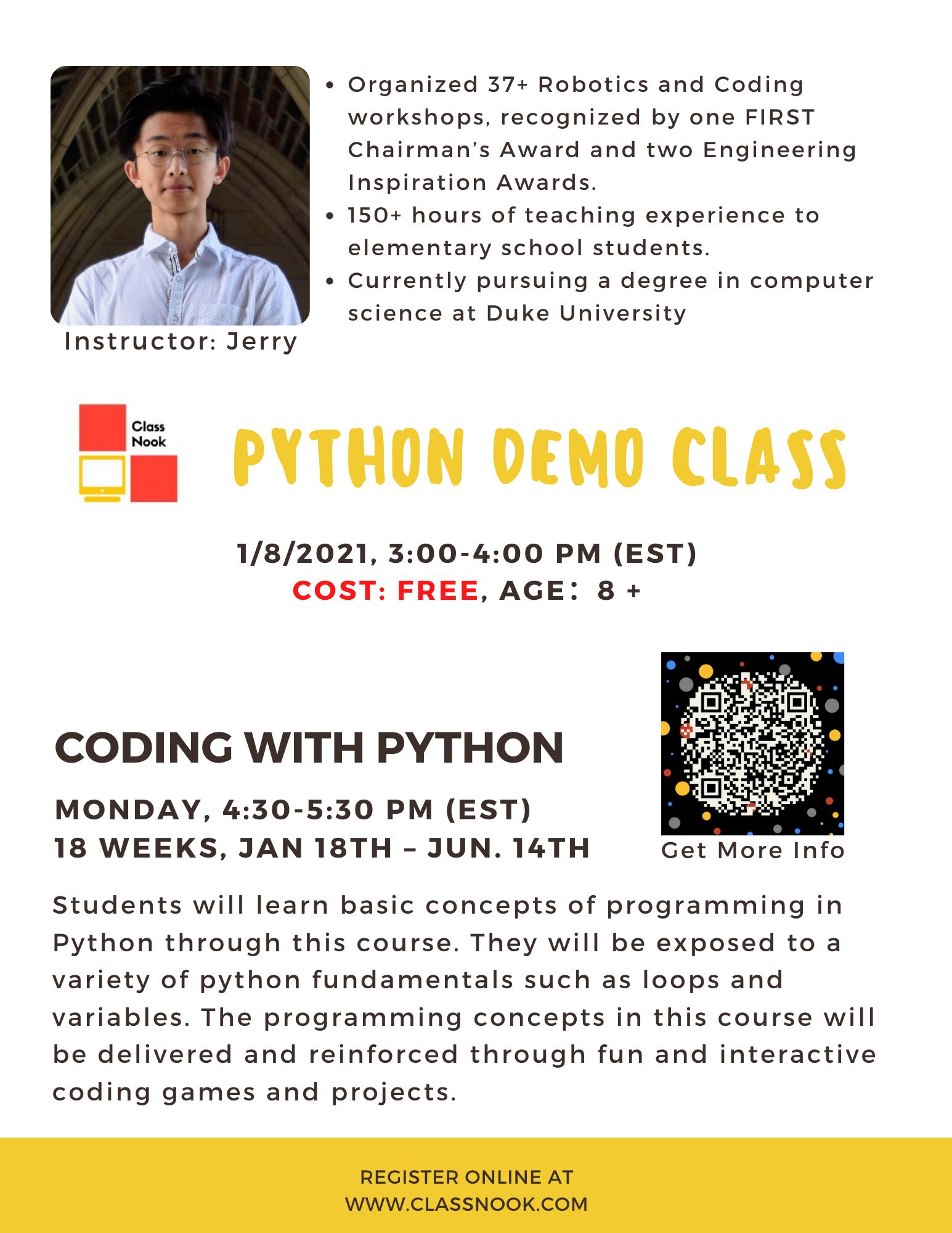 Python Demo Class