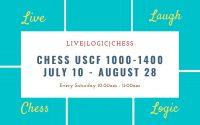 Chess USCF 1000-1400 Summer Saturday 10:00AM