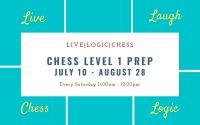 Chess Level 1 Prep Summer Saturday 11:00AM