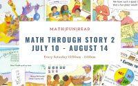Math Through Stories Level 2 Saturday 10AM