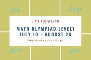 Math Olympiad Level 1 (2nd Grade/Advanced 1st Grade)