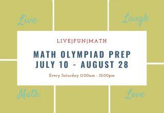Math Olympia Prep Saturday 11AM