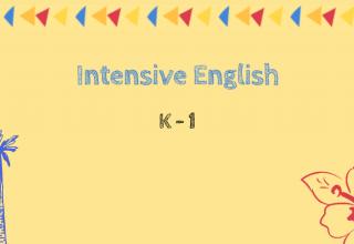 Intensive English-K-1 WW3000  Thursday 8:00AM