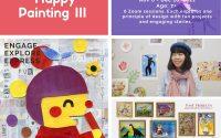 Happy Painting III   7+   Saturdays 1-2pm