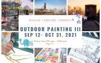 Outdoor Painting III   7+   Sundays 1-2pm