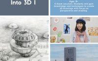 Into 3D I   8+   Saturdays 5-6pm