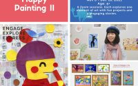 Happy Painting(Online) II   5+   Saturdays 2-3pm