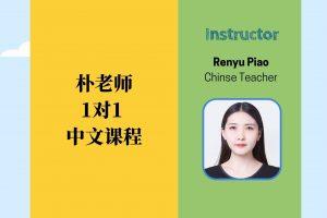 朴老师 1:1 中文课程